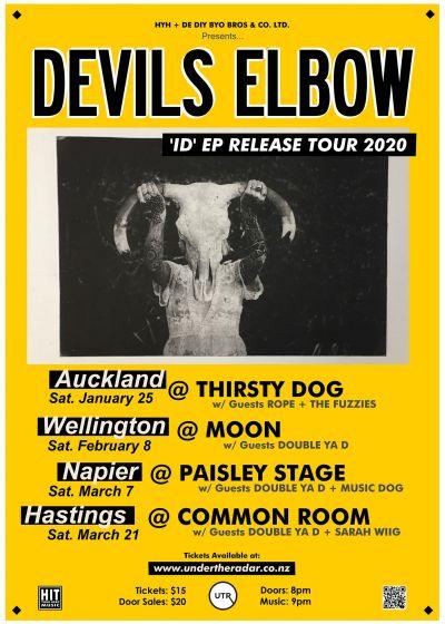 Devils Elbow 'ID' EP Release Tour