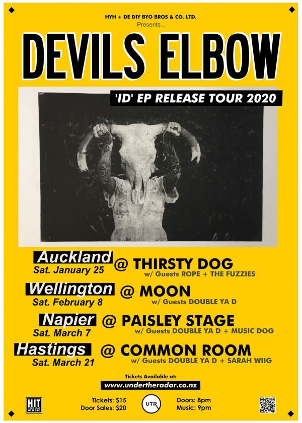 Devils Elbow 'ID' EP Release Tour