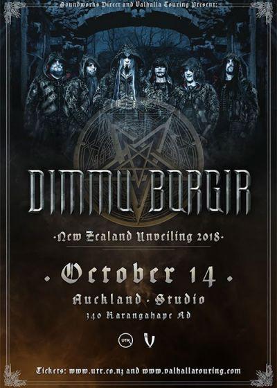 Dimmu Borgir - Unveiling Tour