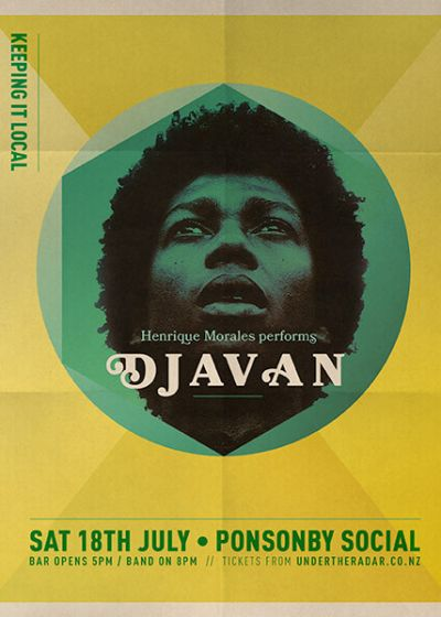 Henrique Morales Performs Djavan