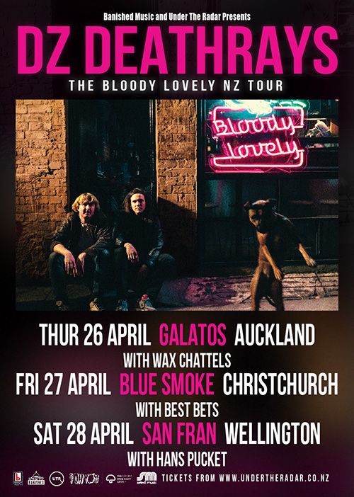 DZ Deathrays - Bloody Lovely Tour