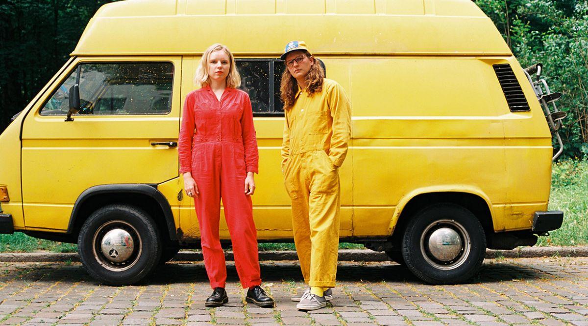 Psychedelic fuzz duo's NZ album release tour kicks off in December.