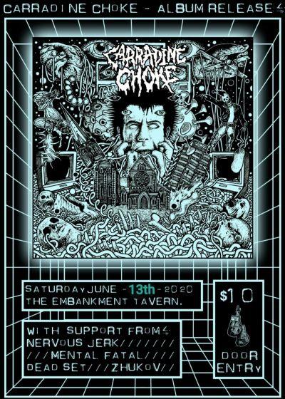 Carradine Choke Album Release