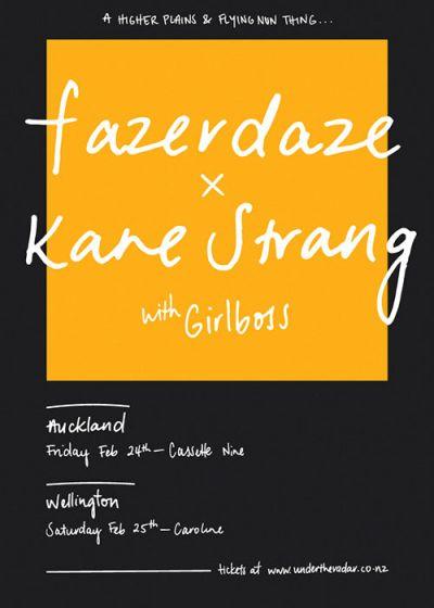 Fazerdaze and Kane Strang