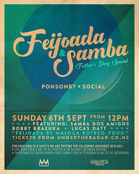 Feijoada & Samba (Father's Day Special)