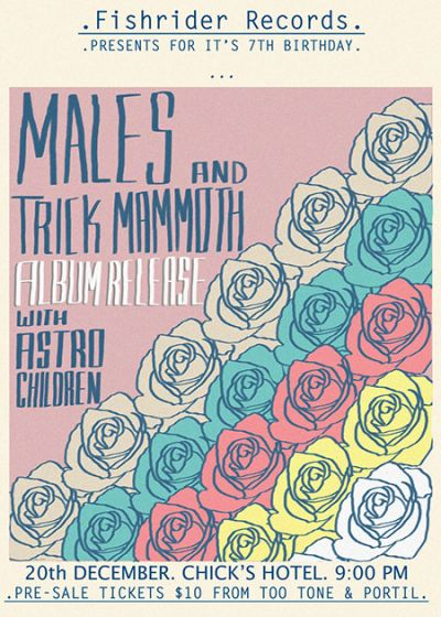 Trick Mammoth And Males Album Release