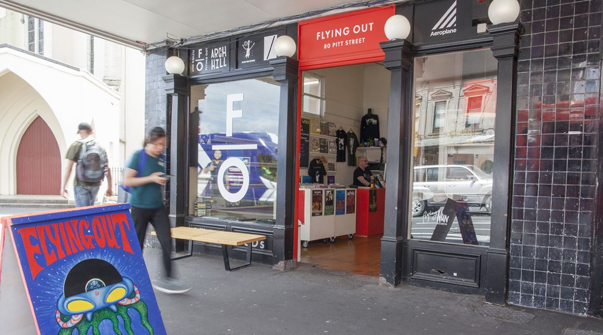 Support NZ Record Stores - Part 3: Flying Out