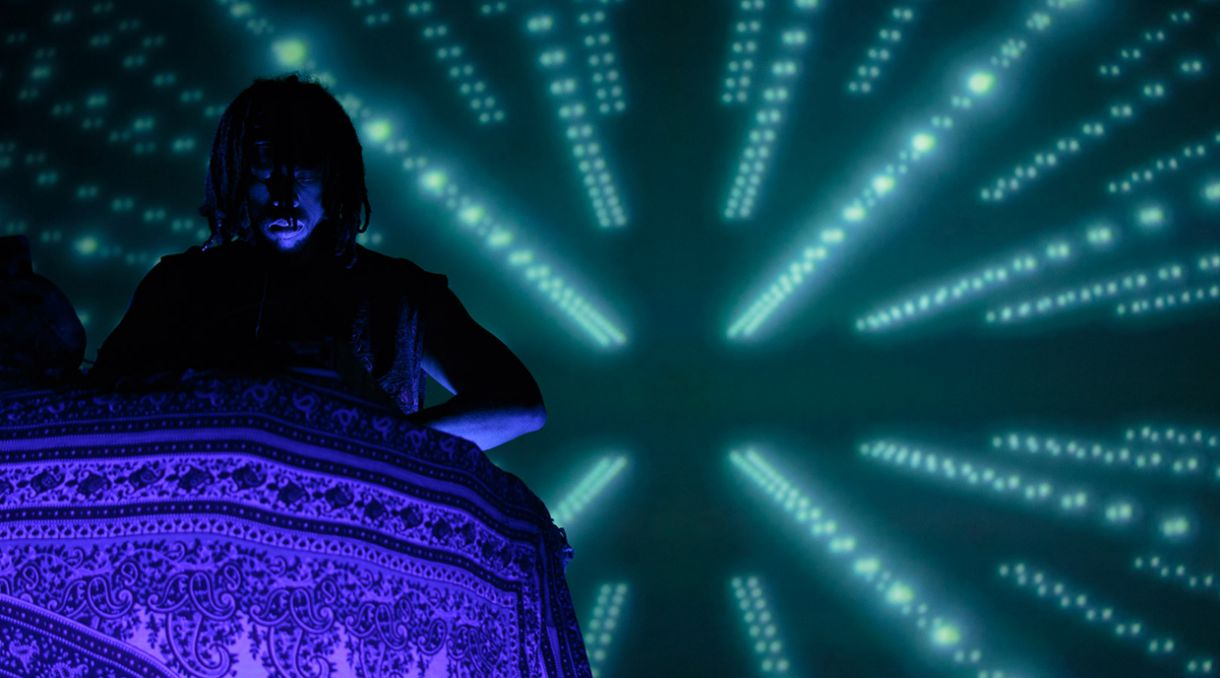 Live Photos + Review: Flying Lotus 3D - Auckland Town Hall