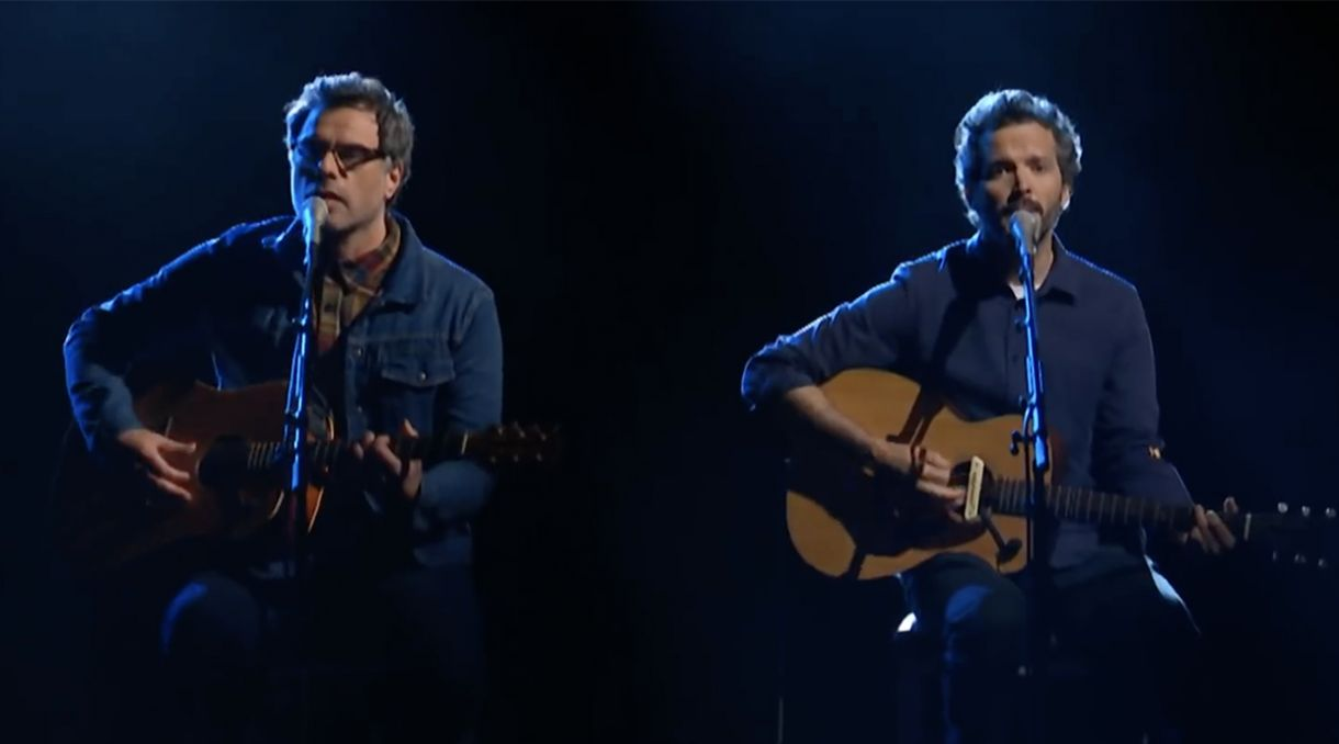 Caught Live: Flight Of The Conchords Play 'Father & Son' On The Late Show
