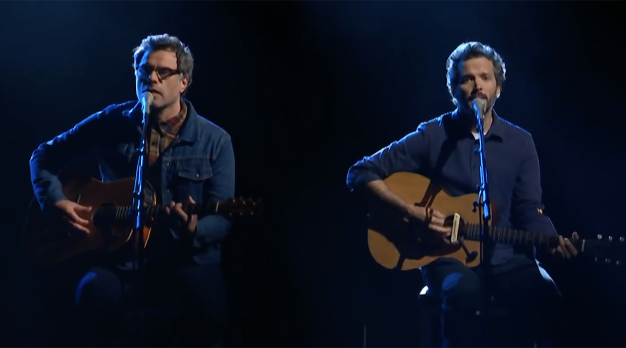 Caught Live Flight Of The Conchords Play Father Son On The Late