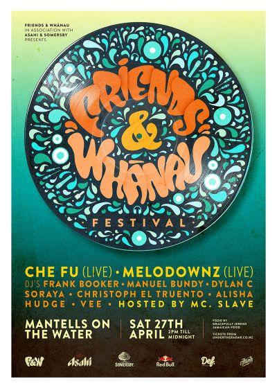 Friends & Whānau Festival