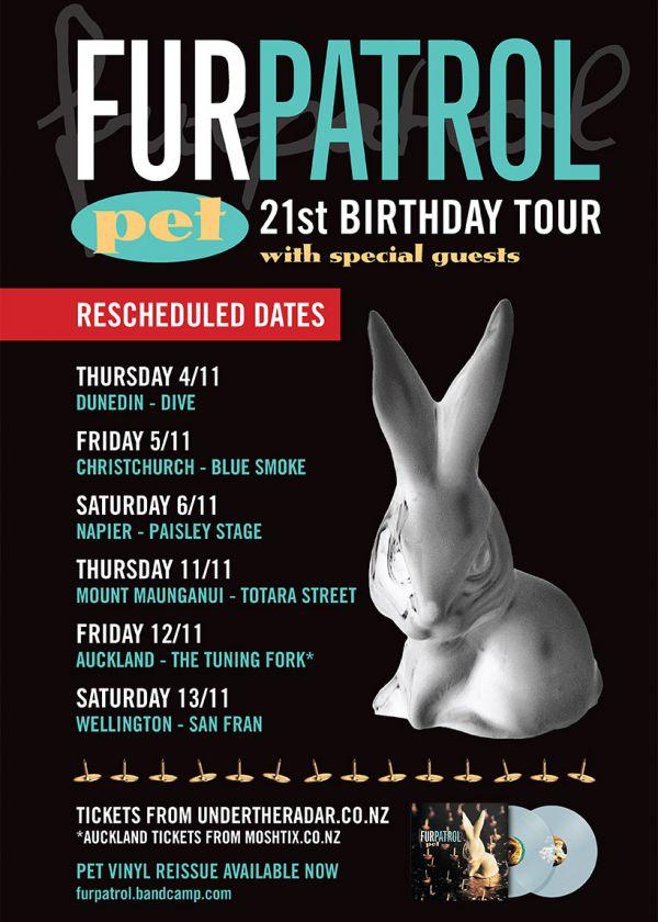 Fur Patrol 'PET' 21st Birthday NZ Tour