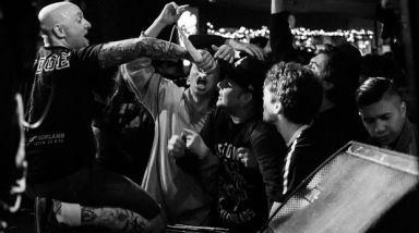 Live Photos: Gorilla Biscuits - Kings Arms, Auckland