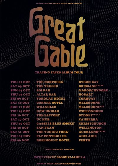Great Gable – Tracing Faces Album Tour