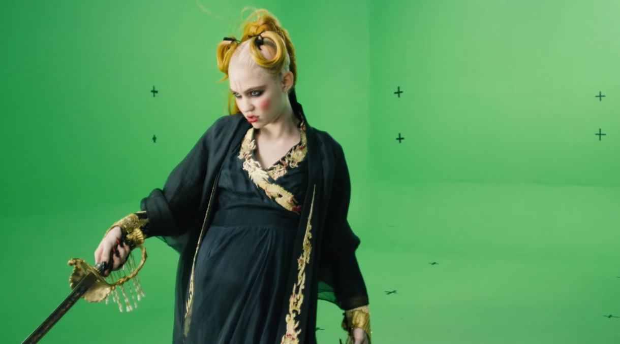 Grimes Shares 'You'll Miss Me When I'm Not Around' Green Screen Clip