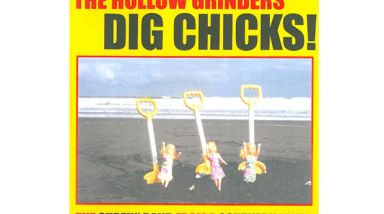 Album Stream: The Hollow Grinders - Dig Chicks!