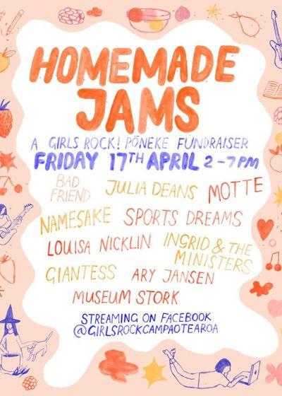 Girls Rock Poneke Presents Homemade Jams