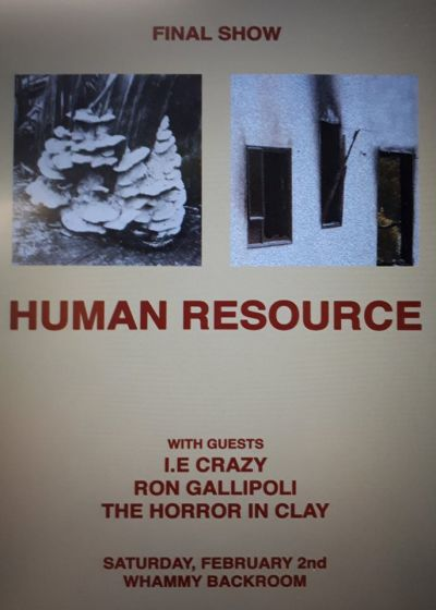 Human Resource, I.E Crazy, Ron Gallipoli, The Horror In Clay