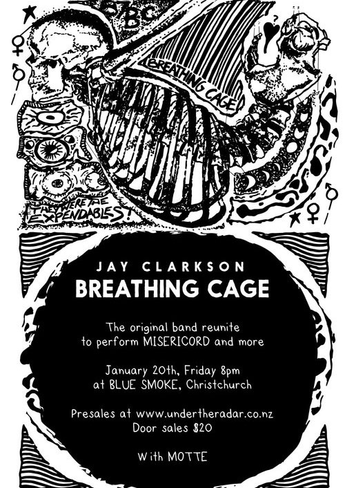 Jay Clarkson with Breathing Cage