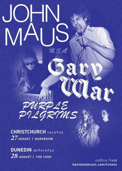 John Maus, Gary War, and Purple Pilgrims