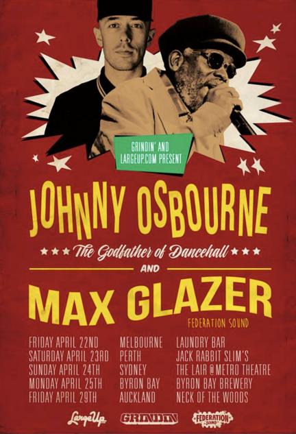 Johnny Osbourne and Max Glazer
