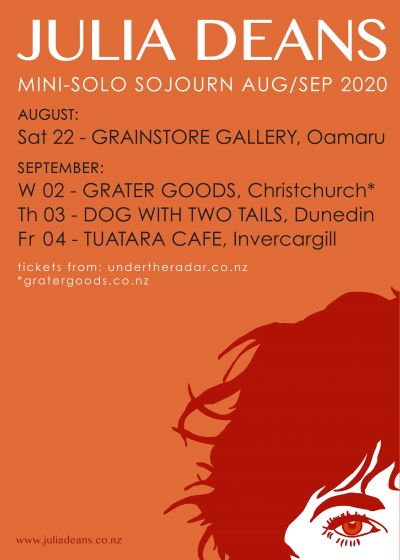 Julia Deans Solo South Island Tour