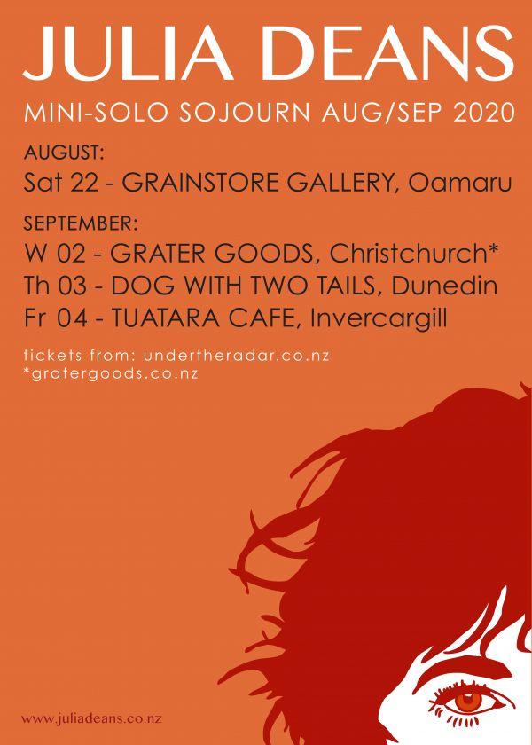 Julia Deans Solo South Island Tour