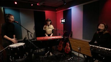 Caught Live: Julia Deans Plays 'Pick Up' On RNZ