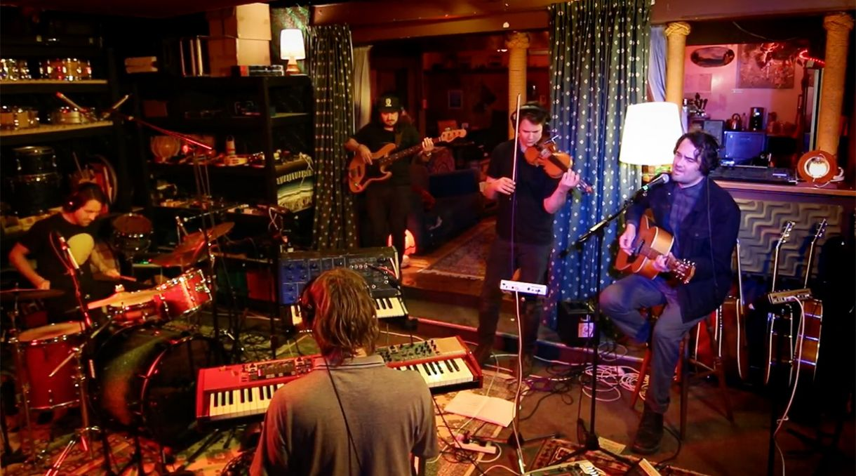 Caught Live: Julian Temple Band Play 'Hundred Year Storm' at Chicks Hotel