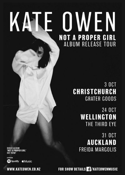 Kate Owen Album Release Tour