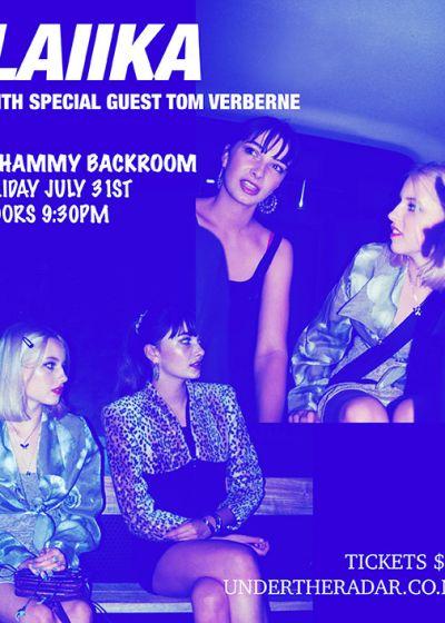 LAIIKA ft special guest Tom Verberne