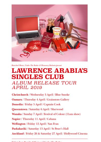 Lawrence Arabia - Cancelled