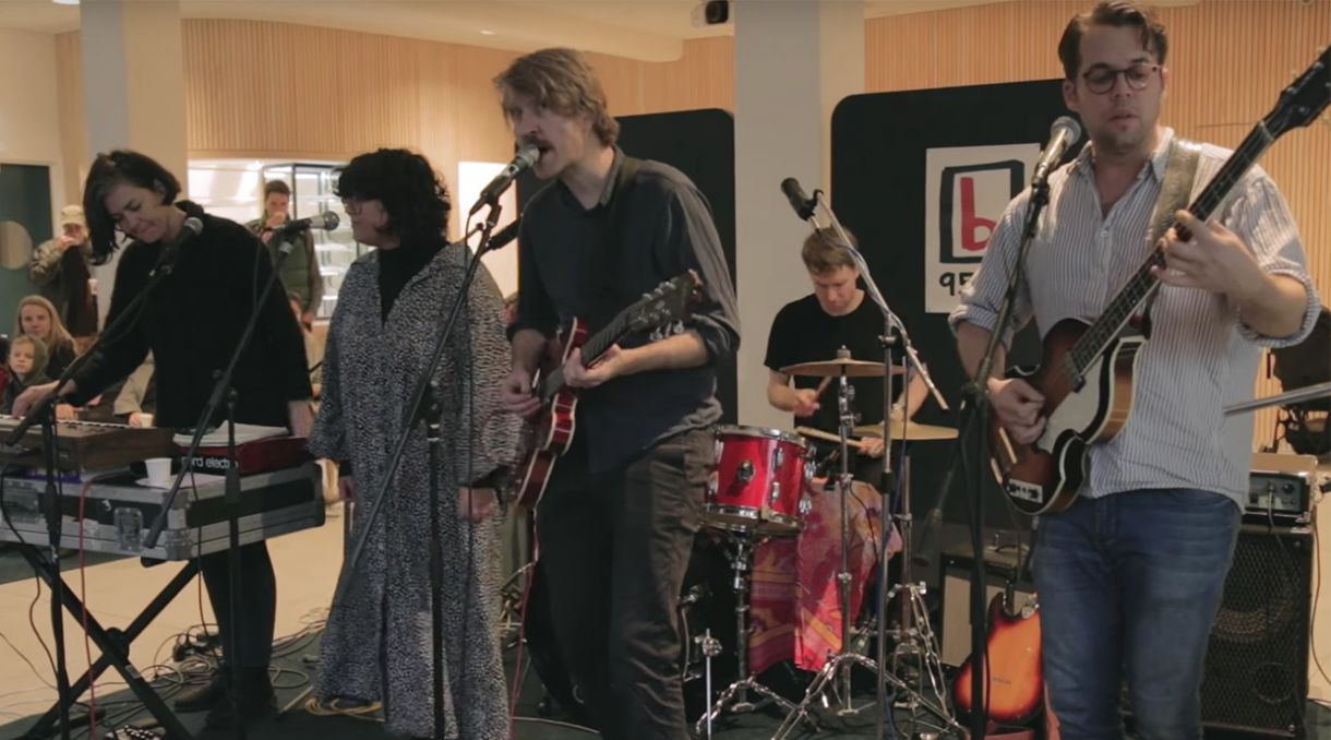 Caught Live: Lawrence Arabia Plays Three Songs For 95bFM's Drive Island