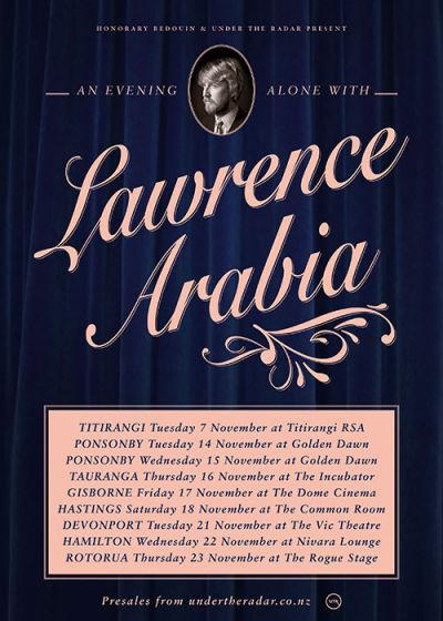 An Evening Alone with Lawrence Arabia