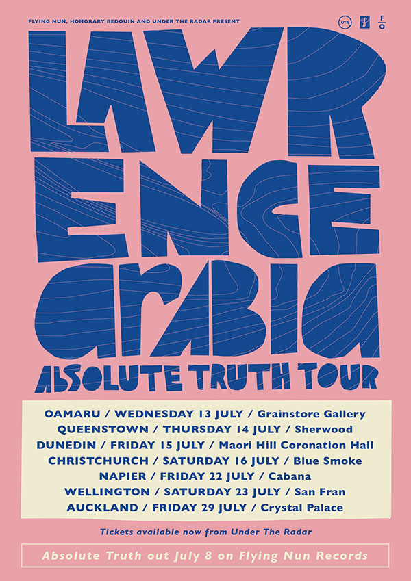 Lawrence Arabia - Absolute Truth Tour