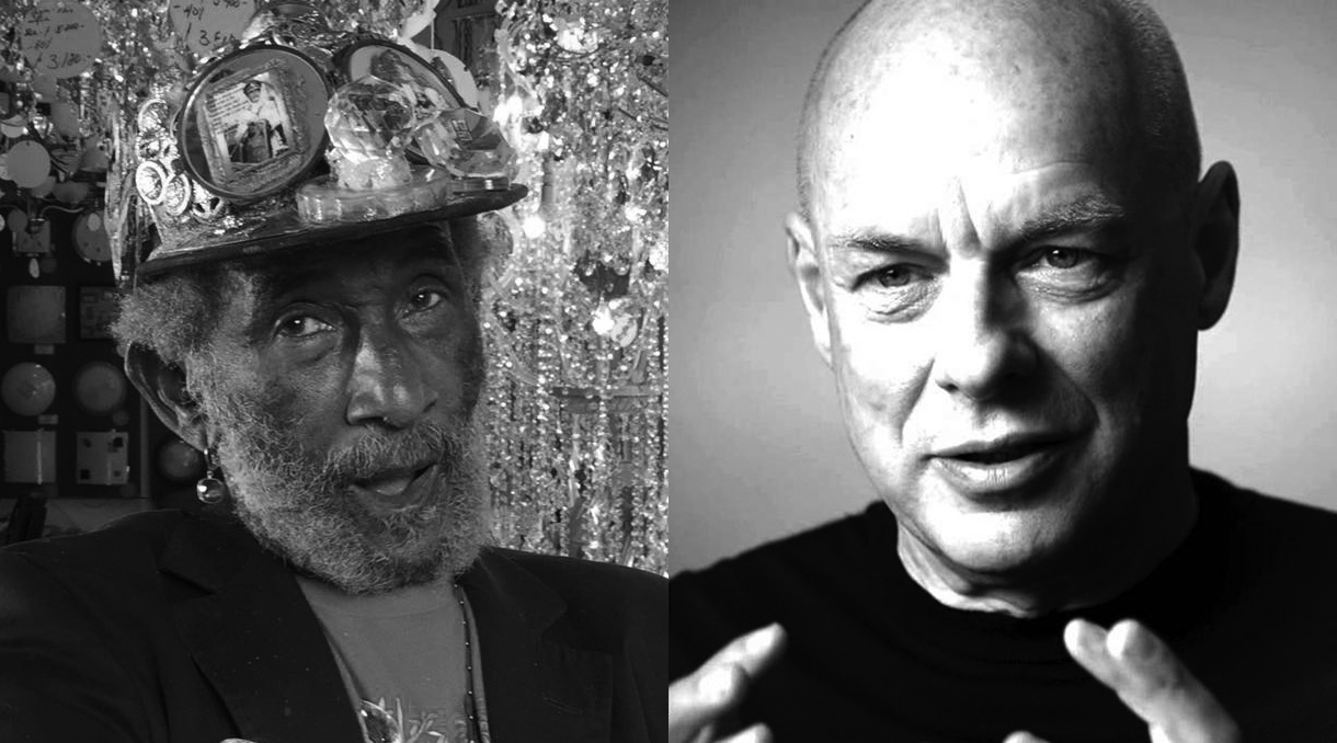 Lee 'Scratch' Perry + Brian Eno Share Single 'Here Come The Warm Dreads'
