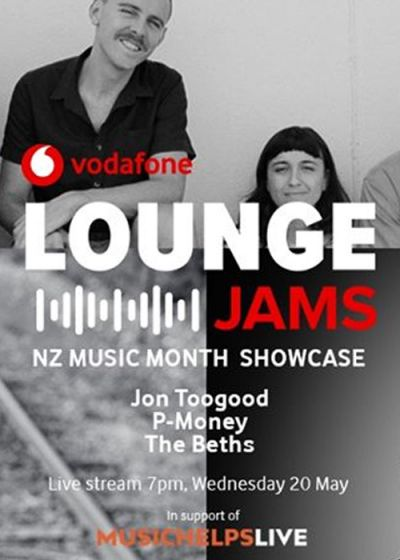 Vodafone Lounge Jams w/ Jon Toogood, The Beths