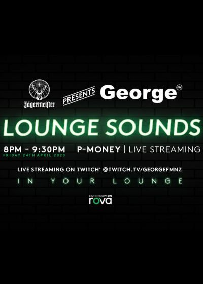 P-Money LIVE | Jägermeister Presents George FM Lounge Sounds