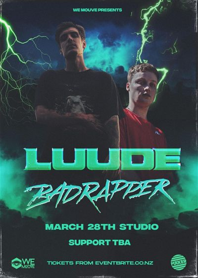 LUUDE, Badrapper - Cancelled