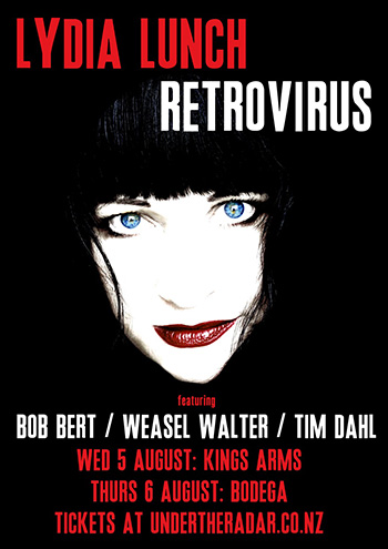 Lydia Lunch - Retrovirus Tour