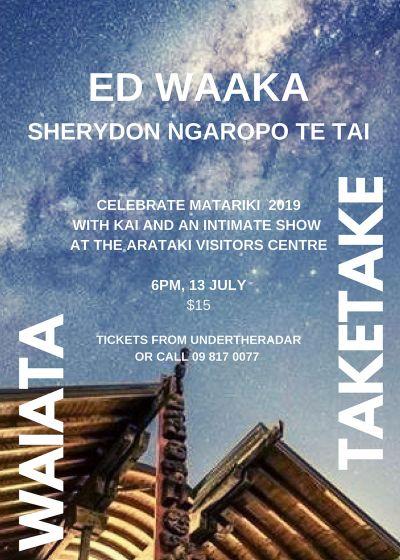 Waiata Taketake - With Ed Waaka and Sherydon Ngaropo Te Tai