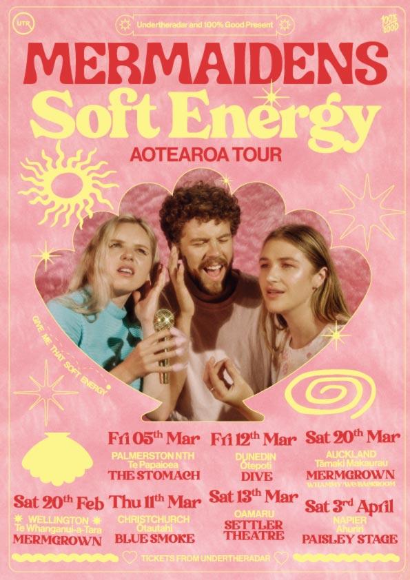 Mermaidens 'Soft Energy' Tour