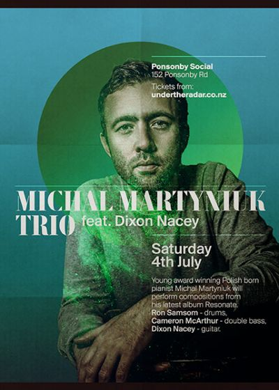 Michal Martyniuk Trio Feat Dixon Nacey