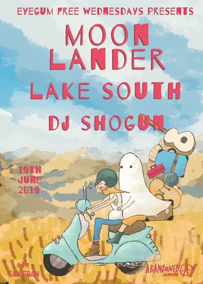 Moon Lander, Lake South