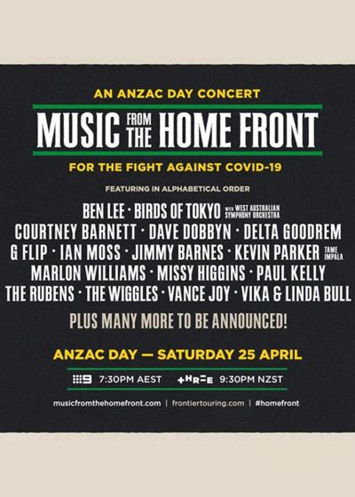 Music From The Home Front w/ Dave Dobbyn, Marlon Williams, Courtney Barnett + More