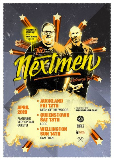 The Nextmen NZ Tour