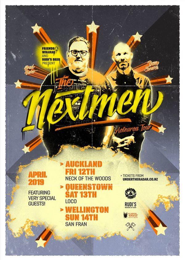 The Nextmen NZ Tour