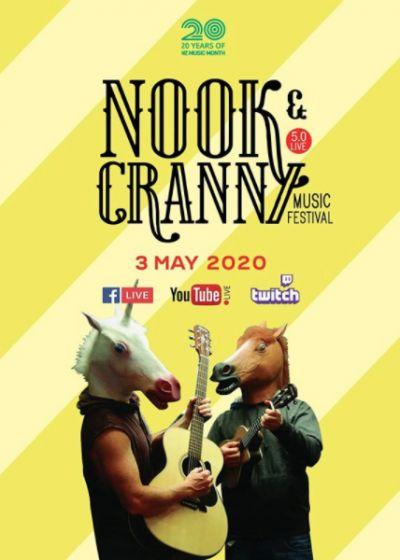 Nook & Cranny Virtual Online Music Festival
