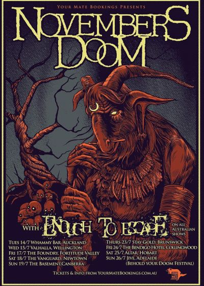 Novembers Doom - Cancelled