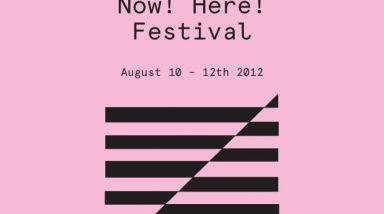 The Audio Foundation Announces Now! Here! Festival